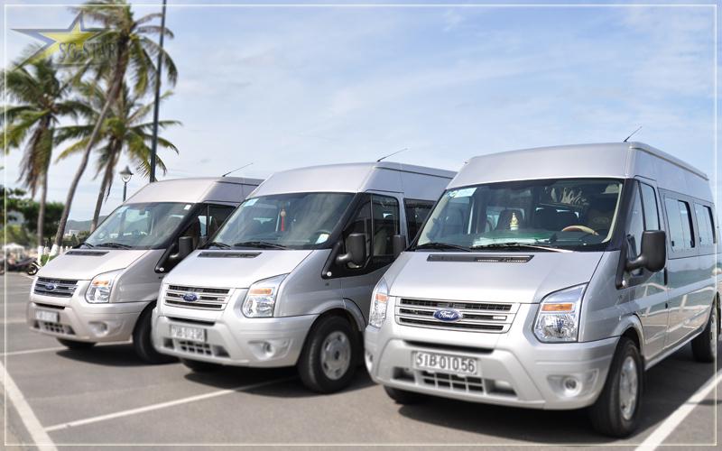Cho thuê xe du lịch 16 chỗ Ford Transit tại Shtour